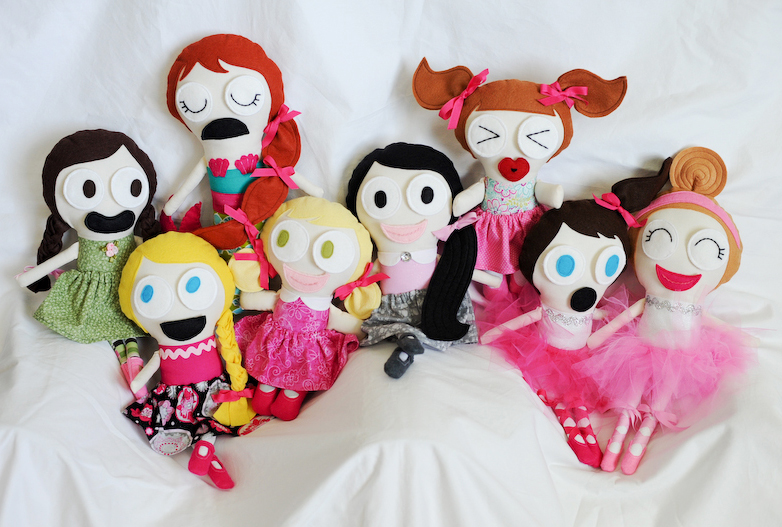 The Initial Gang | Jessica Dolls™